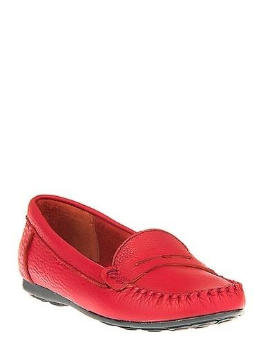 Ziya Hakiki Deri Günlük Ayakkabı Bordo